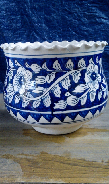 Khurja Potery- Big Vase