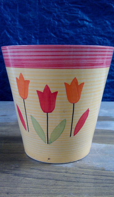 Khurja Potery - Flower printed