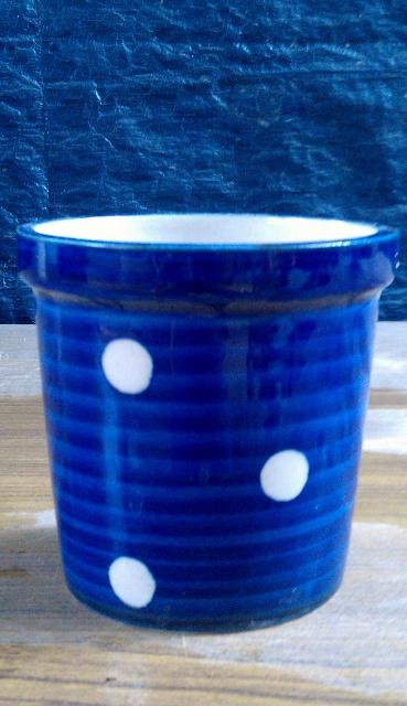 Khurja Potery - Blue Spotted