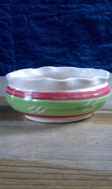 Khurja Potery - Round table vase