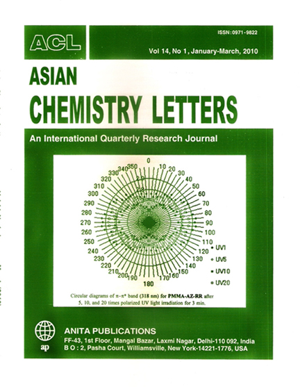 Asian Chemistry Letters
