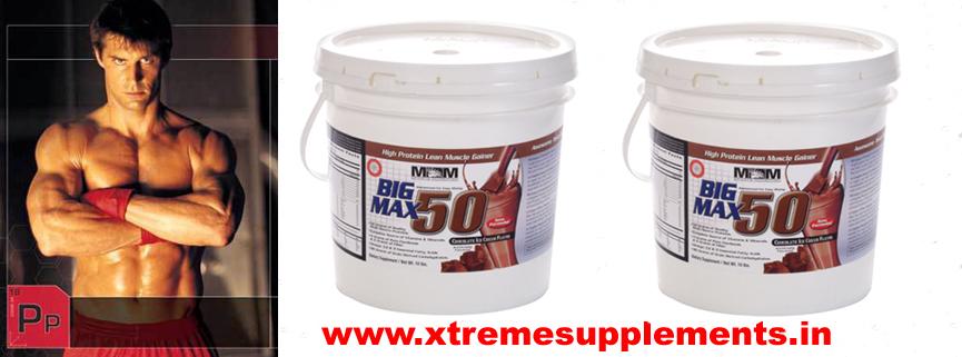 MAXMUSCLE BIG MAX 50 PRICE INDIA