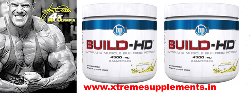 BPI SPORTS BUILD HD SUPPLEMENT PRICE INDIA