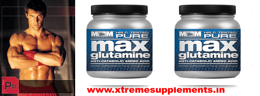 M&M MAX GLUTAMINE 300 GMS PRICE INDIA
