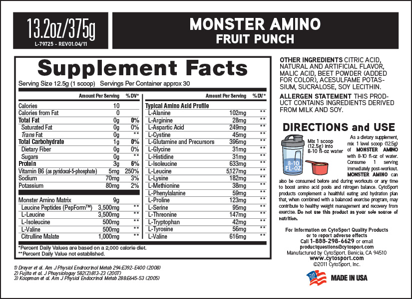 CYTOSPORTS MONSTER AMINO PRICE INDIA