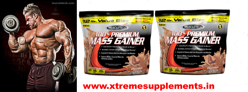 MUSCLETECH 100% PREMIUM MASS GAINER 12 LBS  TOP 10 WEIGHT GAINER IN INDIA