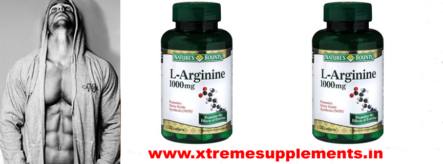 NATURE'S BOUNTY L-ARGININE PRICE INDIA