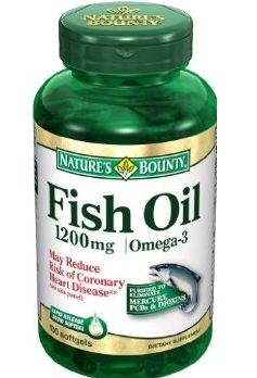 NATURE'S BOUNTY CHOLESTROL FREE FISH OIL OMEGA 3 PRICE INDIA