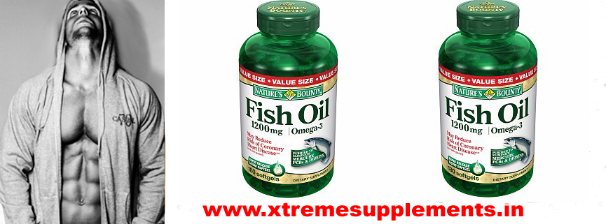 NATURE'S BOUNTY FISH OIL PRICE INDIA