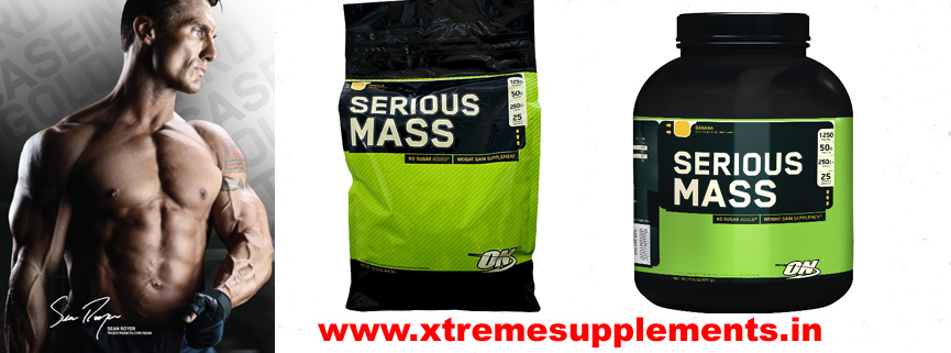 OPTIMUM NUTRITION SERIOUS MASS GAINER 12 LBS  TOP 10 WEIGHT GAINER IN INDIA