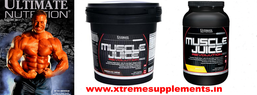 ULTIMATE NUTRITION MUSCLE JUICE REVOLUTION 2600 GAINER  TOP 10 WEIGHT GAINER IN INDIA