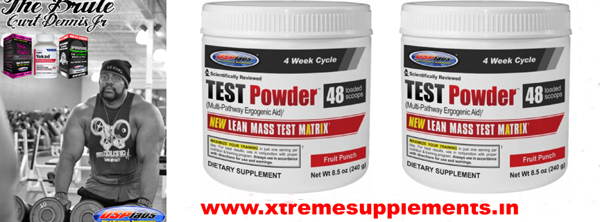USPLABS TEST POWDER 48 SCOOPS PRICE INDIA
