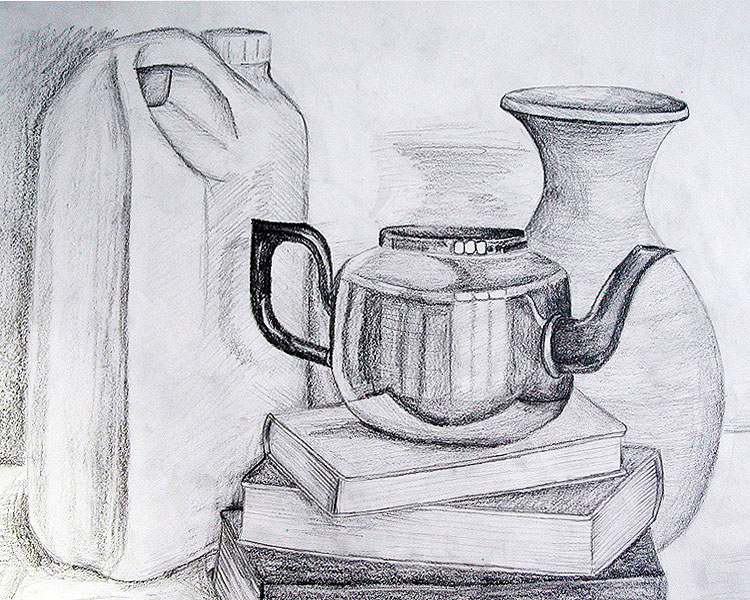 Pencil Sketches Of Objects Pencil sketches of objects