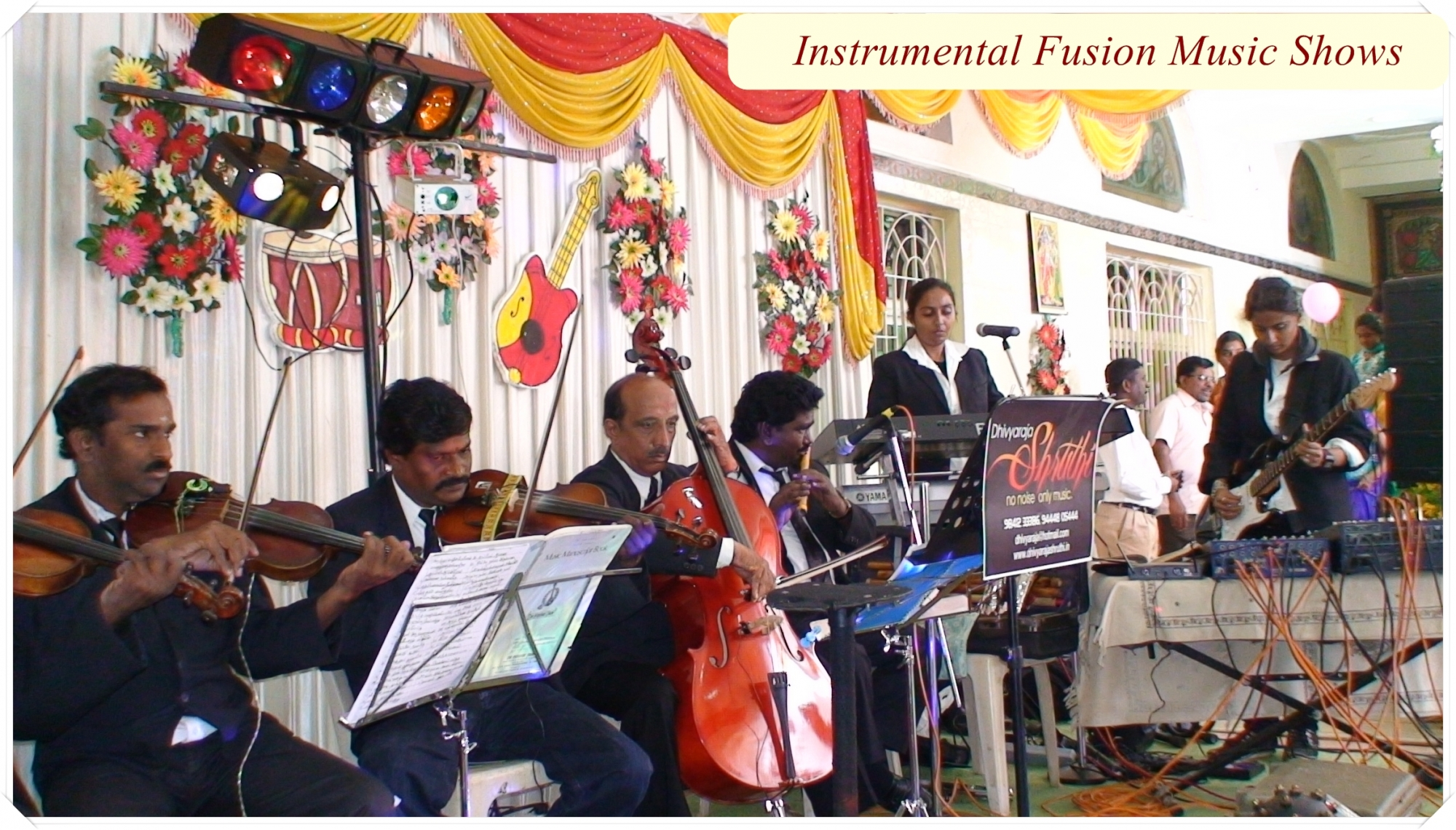 Instrumental music in chennai